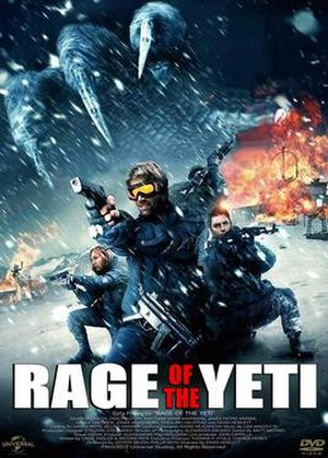 Rage of the Yeti - DVD cover