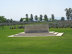 General view of Ramleh cemetery