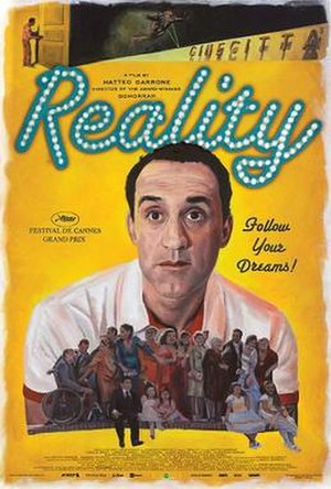 Reality (2012 film) - Theatrical release poster