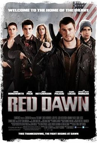 Red Dawn (2012 film) - Image: Red Dawn Film Poster