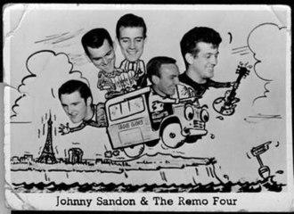 The Remo Four - Image: Remo Four (Johnny Sandon), circa 1963