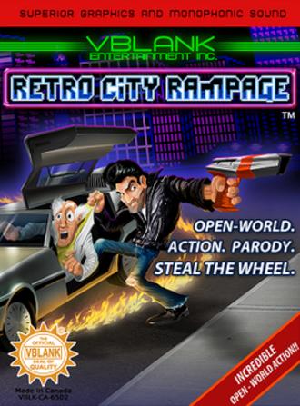 Retro City Rampage - Image: Retro City Rampage cover