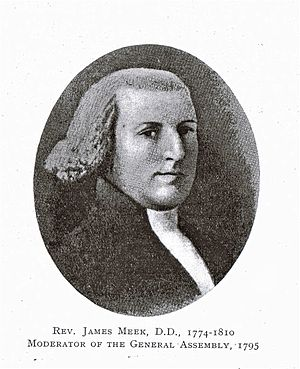 James Meek - Image: Rev Dr James Meek