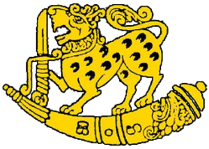 Sri Lanka Sinha Regiment - Image: SLA Sin R crest