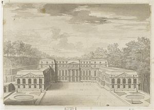 Château de Saint-Cloud - View of a design for Saint-Cloud