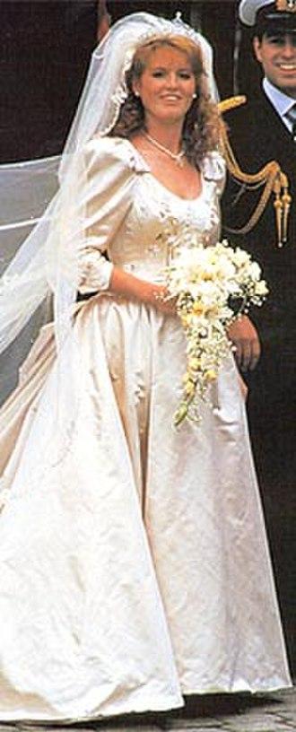 Wedding dress of Sarah Ferguson - Image: Sarah Ferguson wedding dress