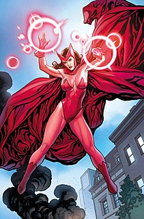 Scarlet Witch Fictional character in Marvel Comics