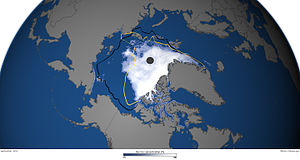 2012 Arctic sea ice extent