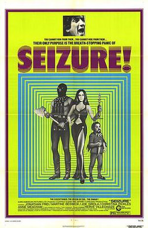 Seizure (film) - Theatrical release poster