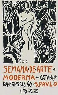 Modern Art Week 1922 Arts festival in São Paulo, Brazil