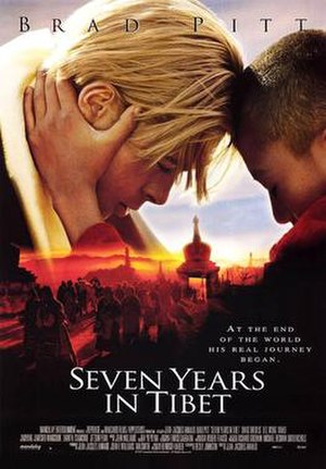 Seven Years in Tibet (1997 film) - Film poster