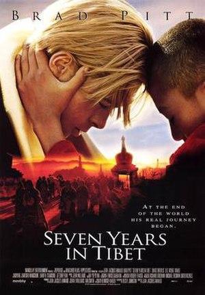 Seven Years in Tibet (1997 film) - Film poster