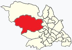 Stannington (ward) - Image: Sheffield wards Stannington