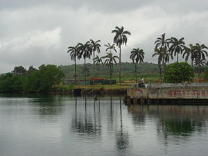 Fort Sherman - Ft. Sherman Dock, Panama in 2008, now Shelter Bay Marina