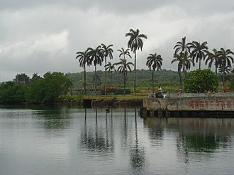 Fort Sherman - Ft. Sherman Dock, Panama in 2008, now Shelter Bay Marina