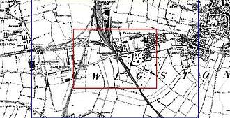 South Wigston - Ordnance Survey 1887.