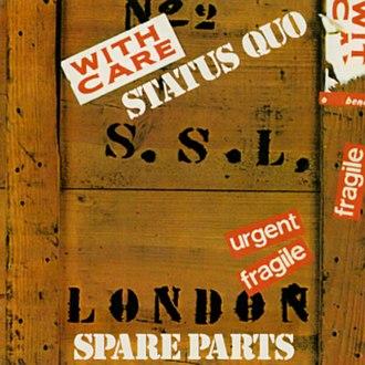 Spare Parts (album) - Image: Spare Parts (Status Quo album art)