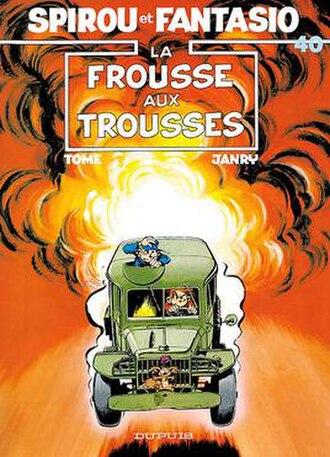 La frousse aux trousses - Cover of the Belgian edition