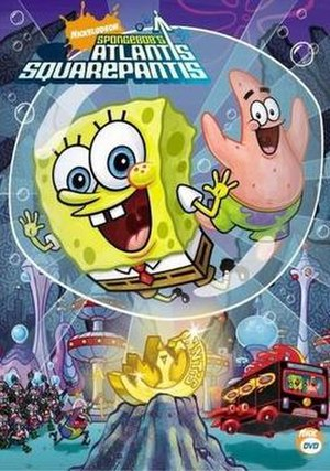 SpongeBob's Atlantis SquarePantis - Image: Sponge Bob Atlantis Square Pantis