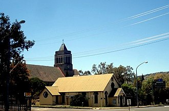 West Tamworth, New South Wales - St Paul's Anglican Church, West Tamworth
