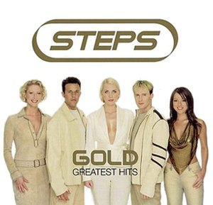 Gold: Greatest Hits (Steps album) - Image: Steps Gold