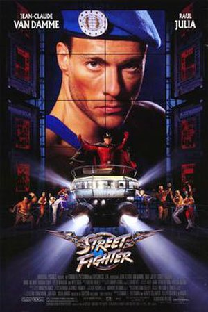 Street Fighter (1994 film) - Theatrical release poster