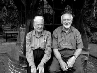 Edward Hollamby - Edward Hollamby (right) and his wife Doris at Red House