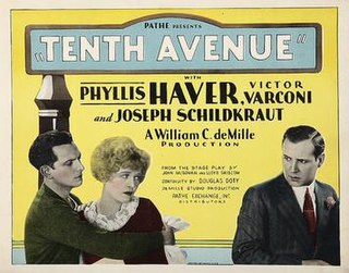 <i>Tenth Avenue</i> (film) 1928 film