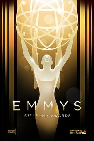 67th Primetime Emmy Awards - Promotional poster