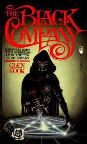 The Black Company - Cover of first novel in series, The Black Company''