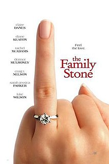 <i>The Family Stone</i> 2005 American comedy-drama film directed by Thomas Bezucha