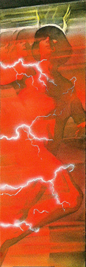 Wally West - The Flash (Wally West) in Kingdom Come. Art by Alex Ross.