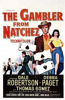 <i>The Gambler from Natchez</i> 1954 film by Henry Levin