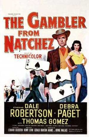 The Gambler from Natchez - Theatrical release poster