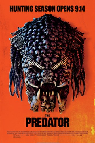 The Predator (film) - Theatrical release poster