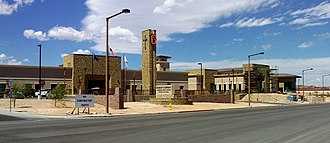 Bishop Gorman High School - Image: The new BGHS