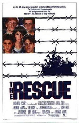 The Rescue (1988 film) - Film Poster