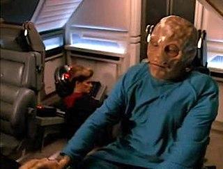 Threshold (<i>Star Trek: Voyager</i>) 15th episode of the second season of Star Trek: Voyager