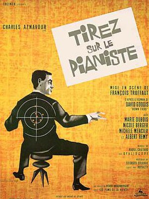 Shoot the Piano Player - Theatrical release poster