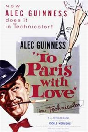 To Paris with Love - Image: To Paris with Love (1955 film)