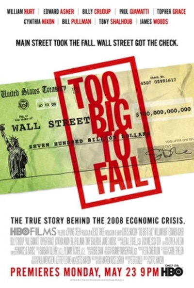 Picture of a movie: Too Big To Fail