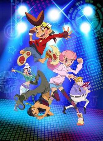 Tribe Cool Crew - Promotional image featuring (from top) Haneru, Kanon, Mizuki, Kumo, and Yuzuru.