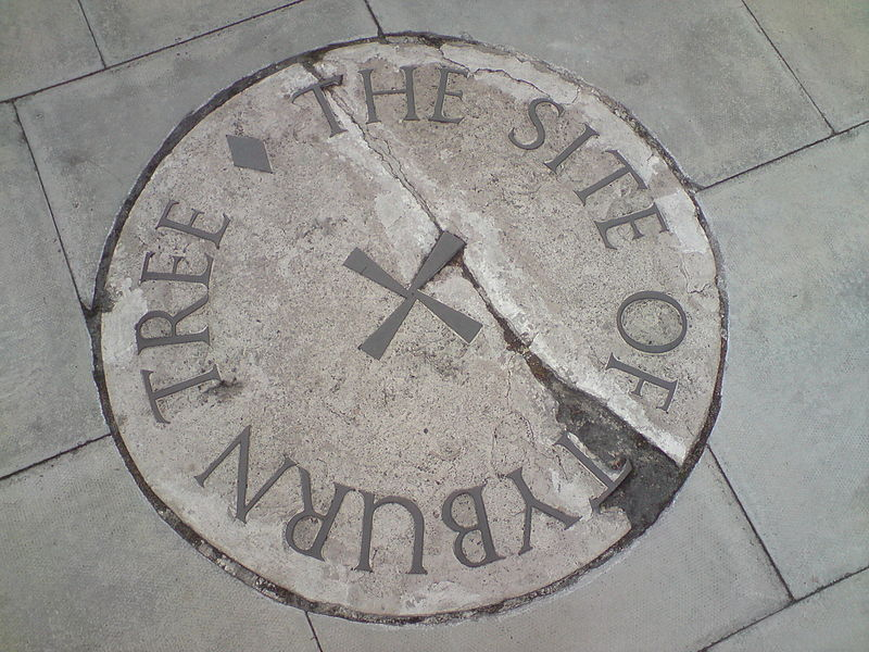 Site of the Tyburn Hanging Tree. Visit the site of hundreds of hangings in a break from shopping on Oxford Street and Marble Arch.