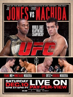 UFC 140 UFC mixed martial arts event in 2011