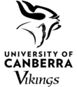 University of Canberra Vikings logo.png