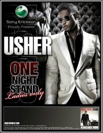 Here I Stand (Usher album) - Image: Usher 2008Tour Poster