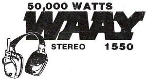 WLOR - '80s AM STEREO logo