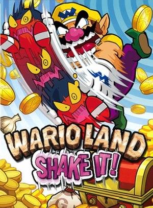 Wario Land: Shake It! - Image: Wario land shake it! boxart