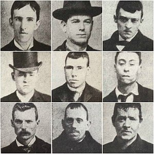 Whyos - Prominent members of the Whyos Gang during its heyday in the late 1870s-early 1880s
