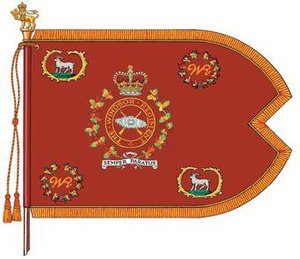 The Windsor Regiment (RCAC) -  The guidon of The Windsor Regiment (RCAC).